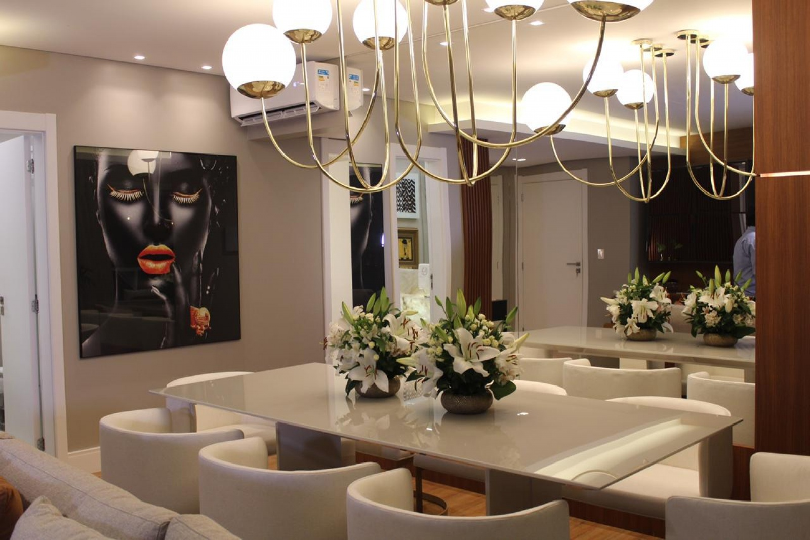 Apto decorado Residencial Riserva Milano