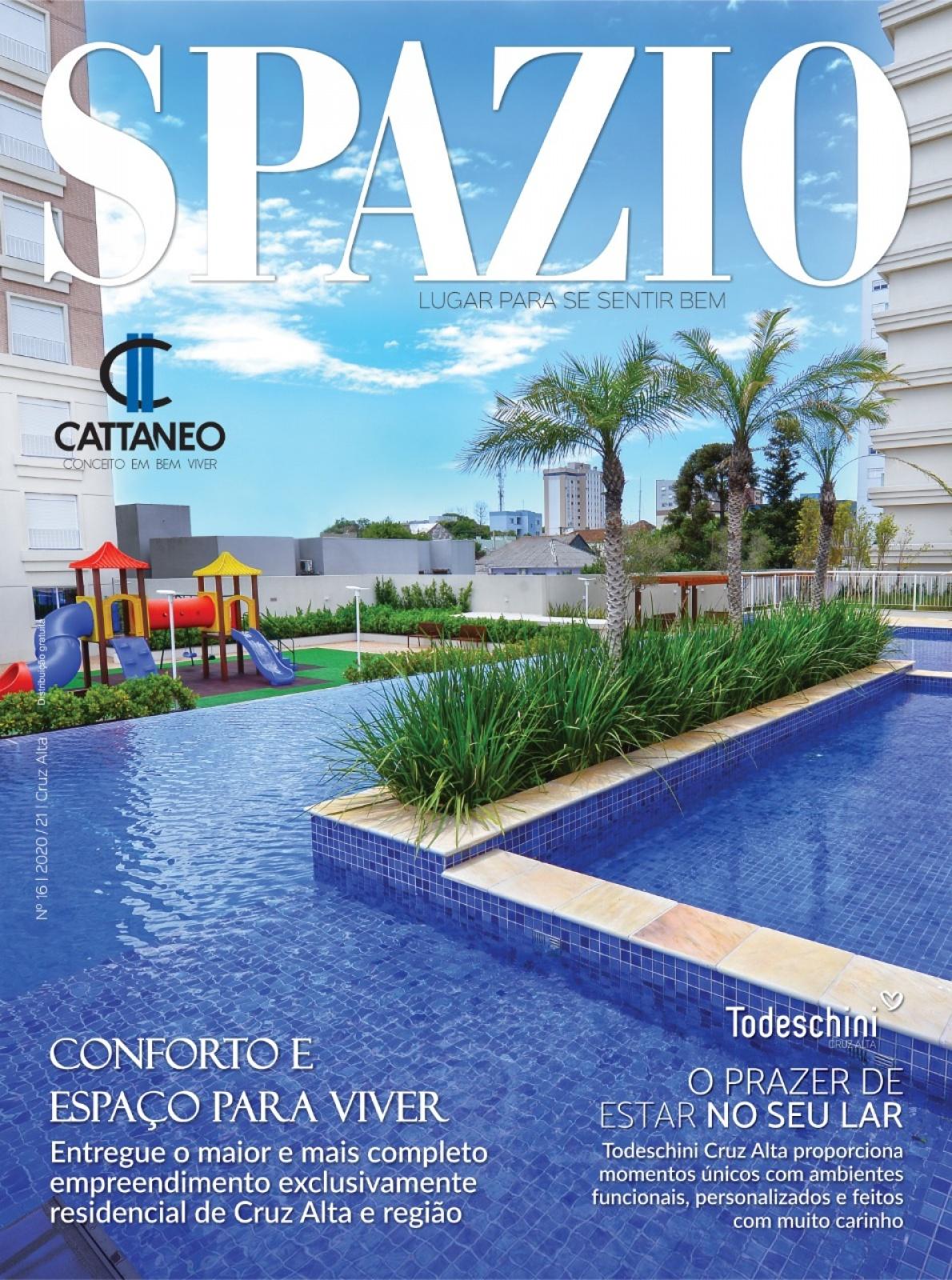 Confira a 16ª edição da Revista Spazio