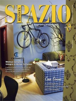 Apresentamos 8ª edição da revista Spazio